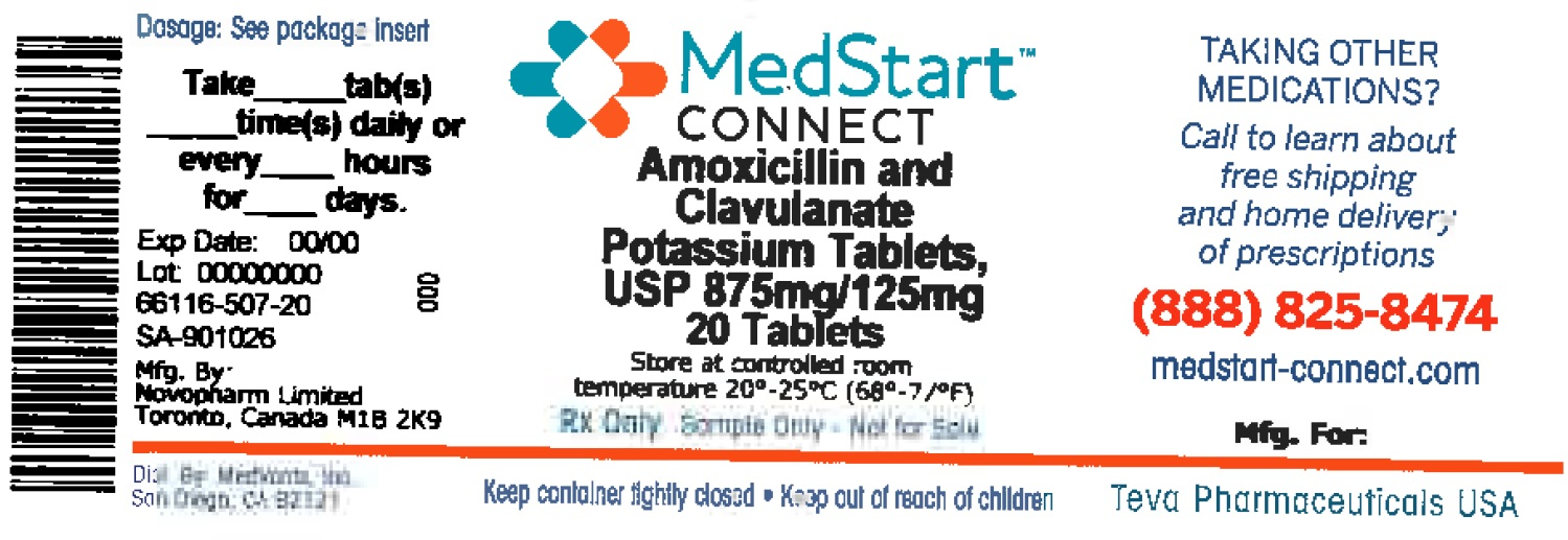 Amoxicillin And Clavulanate Potassium 875 Mg