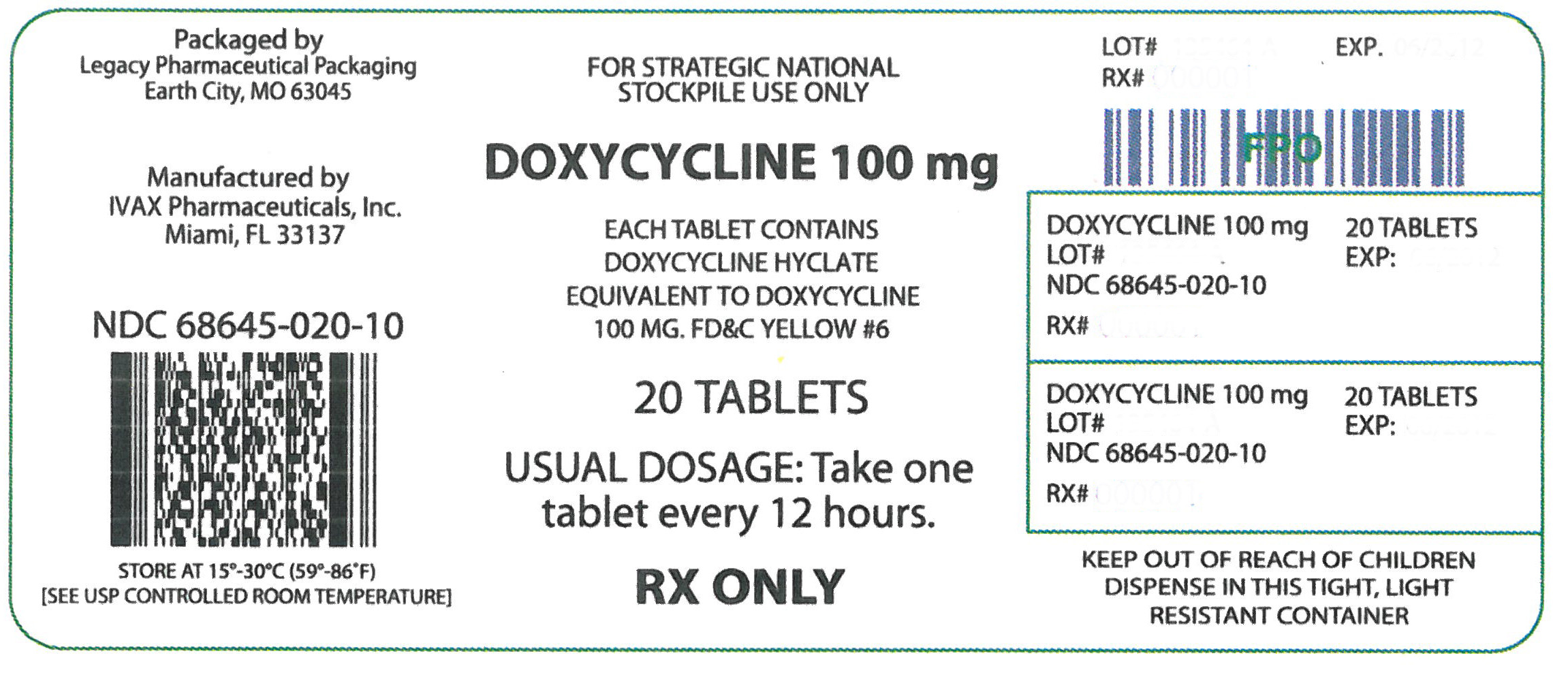Doxycycline Dosage