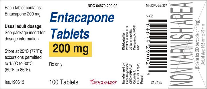 Entacapone (Wockhardt Limited): FDA Package Insert, Page 5