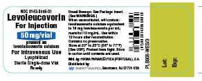 Levoleucovorin (Actavis Pharma, Inc.): FDA Package Insert