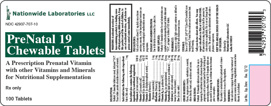 Prenatal 19 Nationwide Laboratories Llc Fda Package Insert