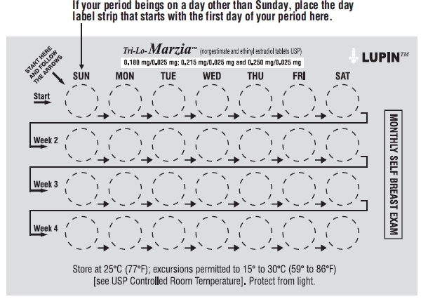 When do you start your period taking birth control pills